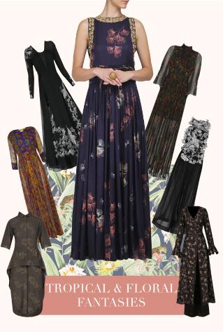 Tropical & Floral Fantasies Dresses