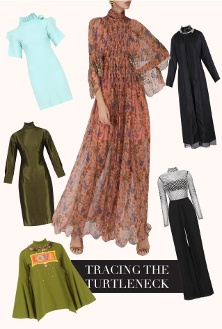 Turtlenecks Dresses
